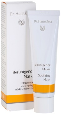 Dr. Hauschka Facial Care заспокоююча маска для чутливої та подразненої шкіри 1