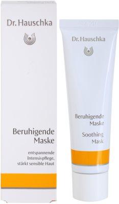 Dr. Hauschka Facial Care zklidňující maska pro citlivou a podrážděnou pleť 2