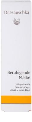 Dr. Hauschka Facial Care masca -efect calmant pentru piele sensibila si iritabila 3