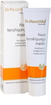 Dr. Hauschka Facial Care masca -efect calmant pentru piele sensibila si iritabila 5