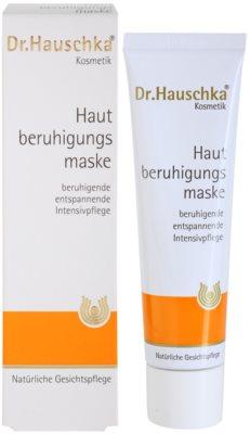 Dr. Hauschka Facial Care masca -efect calmant pentru piele sensibila si iritabila 6