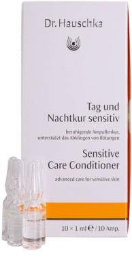 Dr. Hauschka Facial Care tratamiento facial  para pieles sensibles