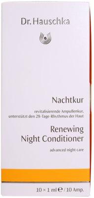 Dr. Hauschka Facial Care ingrijire de noapte regenerativa in fiole 3