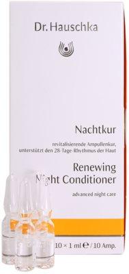 Dr. Hauschka Facial Care ingrijire de noapte regenerativa in fiole