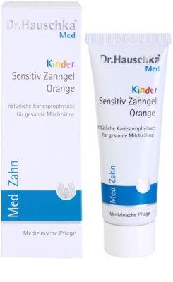 Dr. Hauschka Med pasta de dientes para niños sabor naranja 2