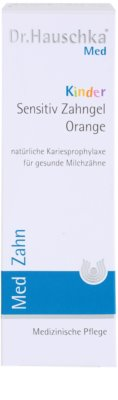Dr. Hauschka Med Kinderzahnpasta mit Orangengeschmack 3
