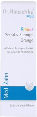 Dr. Hauschka Med pasta de dientes para niños sabor naranja 3
