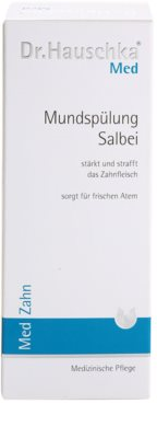 Dr. Hauschka Med вода за уста със салвия 3