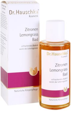 Dr. Hauschka Shower And Bath kopel iz limone in limonske trave 1