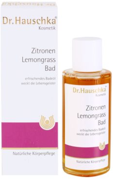 Dr. Hauschka Shower And Bath kopel iz limone in limonske trave 2