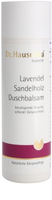 Dr. Hauschka Shower And Bath balzam za prhanje s sivko in sandalovino