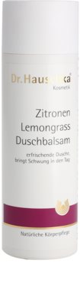 Dr. Hauschka Shower And Bath balzam za prhanje z limono in limonino travo