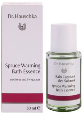 Dr. Hauschka Shower And Bath esencia de baño con efecto calor 1