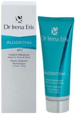 Dr Irena Eris AlgoRithm 40+ tiefenwirksame feuchtigkeitsspendende Maske für Gesicht und Hals 1