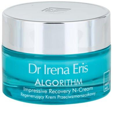 Dr Irena Eris AlgoRithm 40+ нічний відновлюючий крем проти зморшок