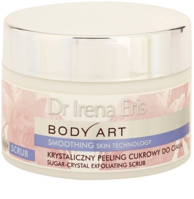 Dr Irena Eris Body Art Smoothing Skin Technology cukrowy  peeling do ciała