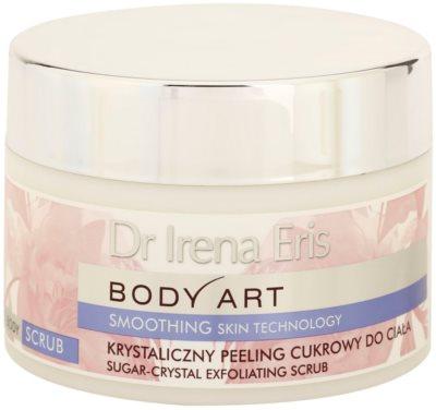 Dr Irena Eris Body Art Smoothing Skin Technology piling za telo s sladkorjem