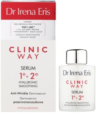 Dr Irena Eris Clinic Way 1°+ 2° verfeinerndes Serum gegen Falten 2
