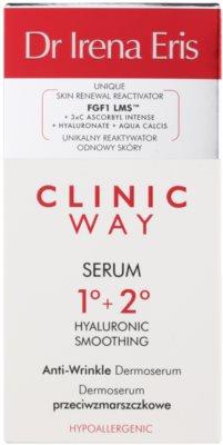 Dr Irena Eris Clinic Way 1°+ 2° verfeinerndes Serum gegen Falten 3