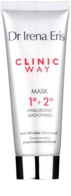 Dr Irena Eris Clinic Way 1°+ 2° glättende Maske gegen Falten