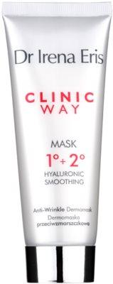 Dr Irena Eris Clinic Way 1°+ 2° розгладжуюча маска проти зморшок