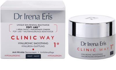 Dr Irena Eris Clinic Way 1° noční výživný a hydratační krém k redukci mimických vrásek 2