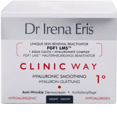 Dr Irena Eris Clinic Way 1° nawilżająco-odżywczy krem na noc redukujący zmarszczki mimiczne 4