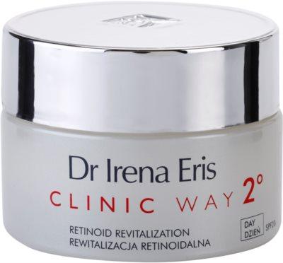 Dr Irena Eris Clinic Way 2° feuchtigkeitsspendende und festigende Creme gegen Falten SPF 20