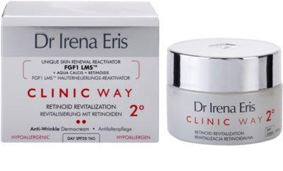 Dr Irena Eris Clinic Way 2° crema de día antiarrugas hidratante y reafirmante SPF 20 2