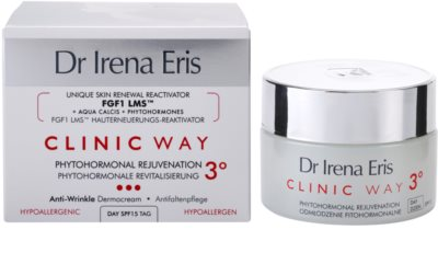 Dr Irena Eris Clinic Way 3° omlazující a rozjasňující denní krém SPF 15 2