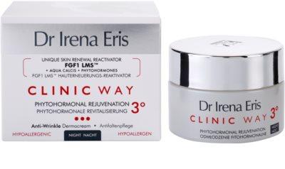 Dr Irena Eris Clinic Way 3° fiatalító és simító éjszakai krém 2