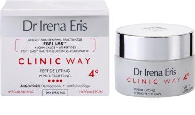 Dr Irena Eris Clinic Way 4° regenerujący i wygładzający krem na dzień przeciw głębokim zmarszczkom SPF 20 2