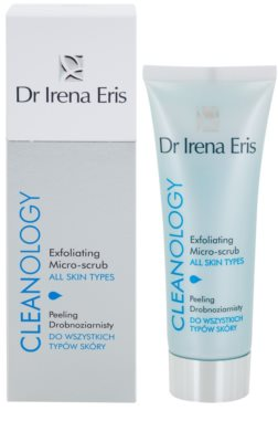 Dr Irena Eris Cleanology мікро-пілінг для всіх типів шкіри 1