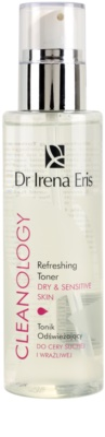 Dr Irena Eris Cleanology освіжаючий тонік для чутливої сухої шкіри