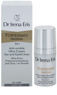 Dr Irena Eris Fortessimo Maxima 55+ creme antirrugas para o contorno dos olhos 2