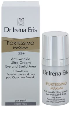 Dr Irena Eris Fortessimo Maxima 55+ crema anti-rid zona ochilor 2
