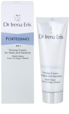 Dr Irena Eris Fortessimo 45+ lift crema de fata pentru fermitate pentru gat si decolteu 1