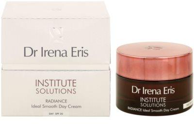Dr Irena Eris Institute Solutions Radiance crema de zi pentru netezire SPF 20 2