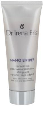 Dr Irena Eris Nano Entrée 50+ protivrásková liftingová maska na obličej, krk a dekolt