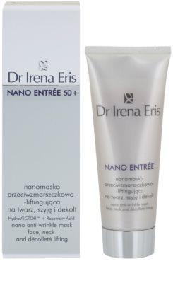 Dr Irena Eris Nano Entrée 50+ lifting maska proti gubam za obraz, vrat in dekolte 1