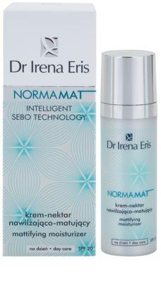 Dr Irena Eris NormaMat crema de matifiere cu efect de hidratare crema de matifiere cu efect de hidratare SPF 20 2
