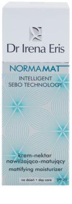 Dr Irena Eris NormaMat crema de matifiere cu efect de hidratare crema de matifiere cu efect de hidratare SPF 20 3