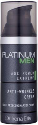 Dr Irena Eris Platinum Men Age Control crema reafirmante para pieles maduras