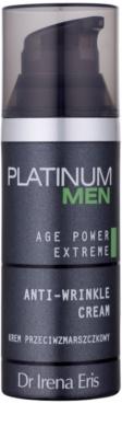 Dr Irena Eris Platinum Men Age Control creme refirmante  para pele madura