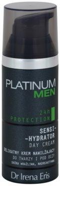 Dr Irena Eris Platinum Men 24 h Protection denný hydratačný a ochranný krém na tvár a očné okolie