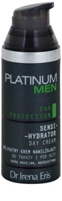Dr Irena Eris Platinum Men 24 h Protection dnevna vlažilna in zaščitna krema za obraz in predel okoli oči 1