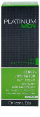 Dr Irena Eris Platinum Men 24 h Protection dnevna vlažilna in zaščitna krema za obraz in predel okoli oči 3