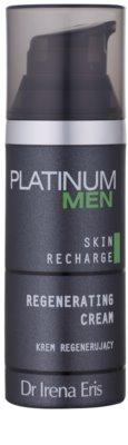 Dr Irena Eris Platinum Men 24 h Protection нощен регенериращ крем за уморена кожа