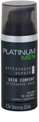Dr Irena Eris Platinum Men Aftershave Repair borotválkozás utáni balzsam az arcbőr megnyugtatására