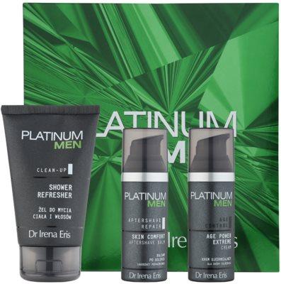 Dr Irena Eris Platinum Men Aftershave Repair Kosmetik-Set  I.